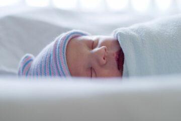 baby heeft een goed slaapritme