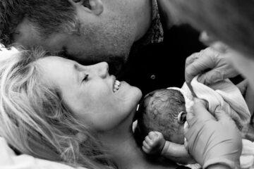 jong gezin na bevalling ziekenhuis