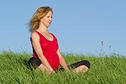 Zwangerschapsyoga oefening ademhaling