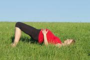 Zwangerschapsyoga oefening rug