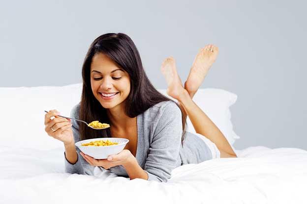 Weer genieten van eten na 13 weken zwanger