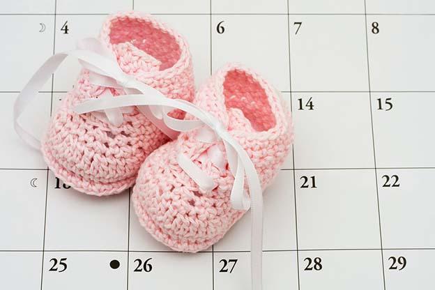 Na 40 weken zwangerschap is de uitgerekende datum