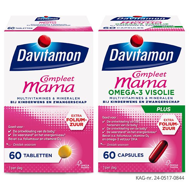 Tip 14 weken zwanger, Compleet Mama van Davitamon