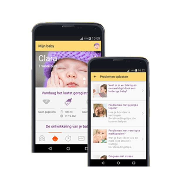 Tip 36 weken zwanger, de MyMedela App
