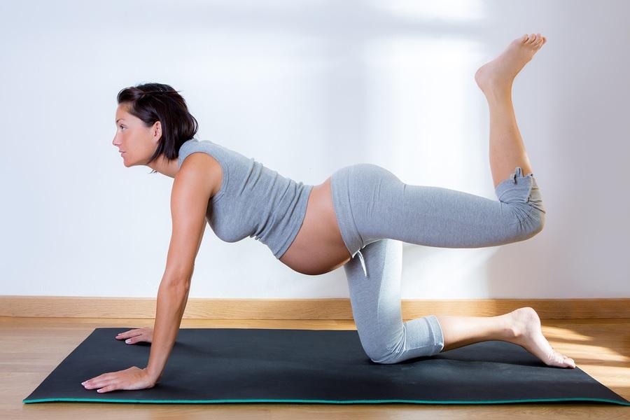 Zwangerschapsgymnastiek