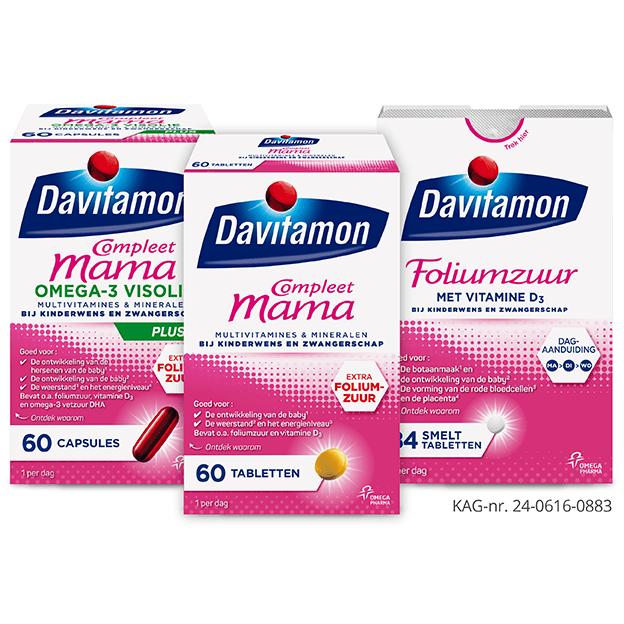 Slik vitamines en mineralen als je 1 week zwanger bent