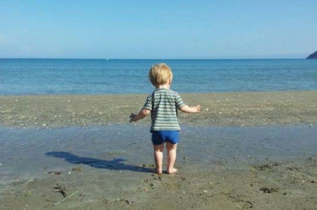vakantievoorpret baby strand