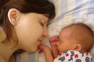 Slapen met baby