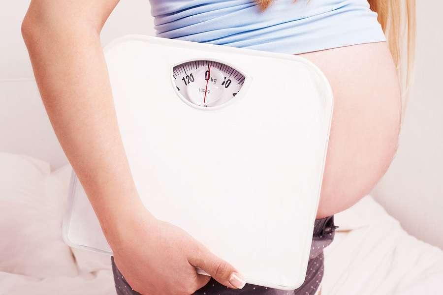 gewichtstoename tijdens zwangerschap