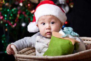 Eerste kerst baby