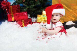 Kerstkleding baby