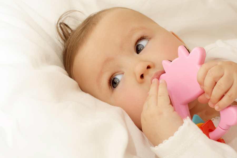 Baby 4 maanden oud