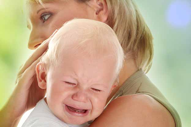 Baby van 9 maanden oud met verlatingsangst