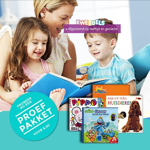 Shoptip baby 6 weken oud, gratis kwebbels boekenpakket