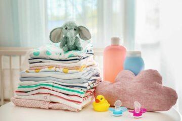 Producten van baby uitzetlijst