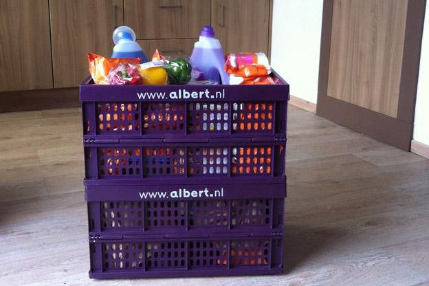Boodschappen online besteld via ah.nl