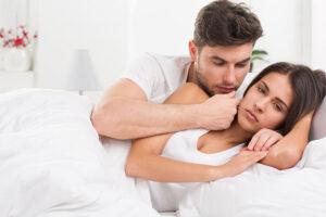 Vrouw heeft na de bevalling geen zin in seks