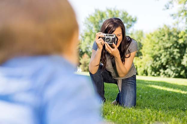 Foto's maken van je baby