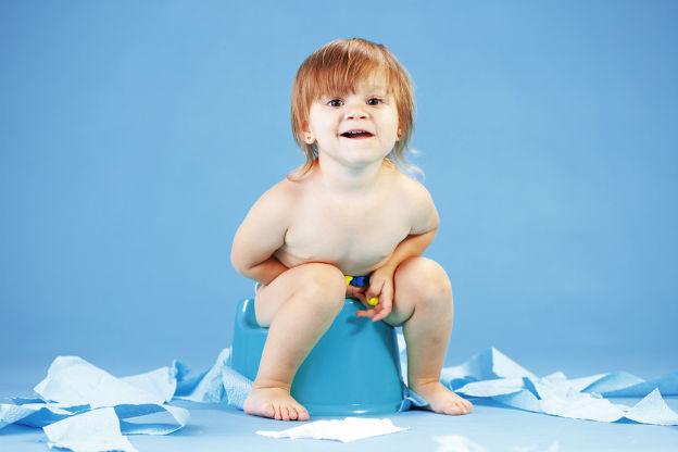 Foto's van je kind maken op het toilet
