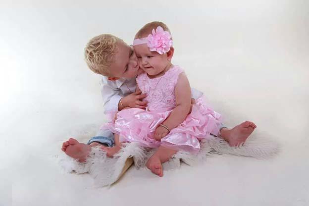 Babyfoto ingestuurd door Natasja Meijer