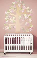 Babykamer inspiratie - een muursticker