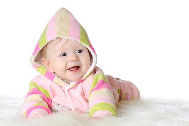 Baby van 5 maanden oud
