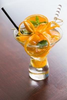 Sinaasappeldrink