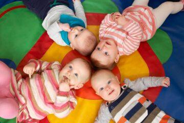 kinderen bij kinderopvang