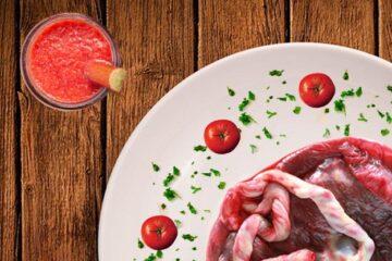 De placenta eten - Een lekker diner?