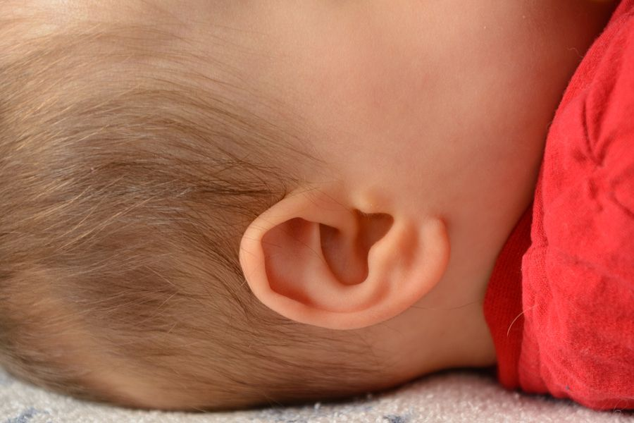 Oor baby gehoortest
