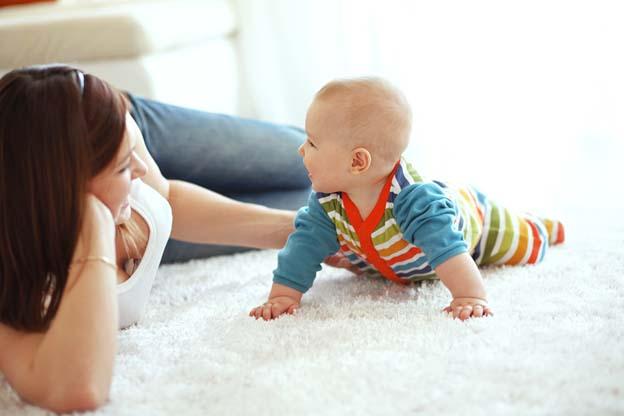 Mommy Green eigen persoonlijkheid met 6 maanden