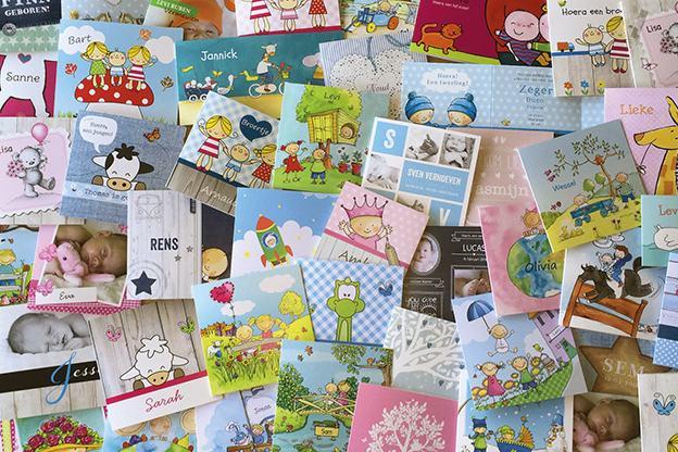 Mooiste geboortekaartjes zelf ontwerpen op Koningkaart