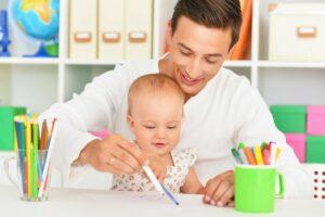 Moederdagcadeau knutselen met baby