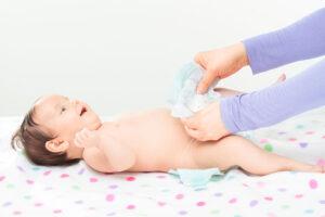 luieruitslag baby, bij verschonen baby