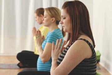 Yoga oefeningen tijdens de zwangerschap