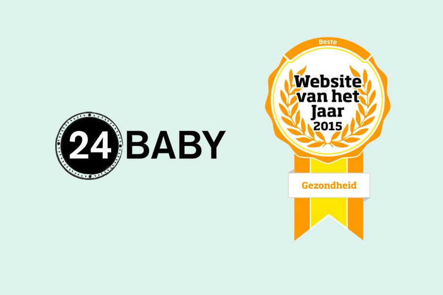 24Baby wint Website van het Jaar