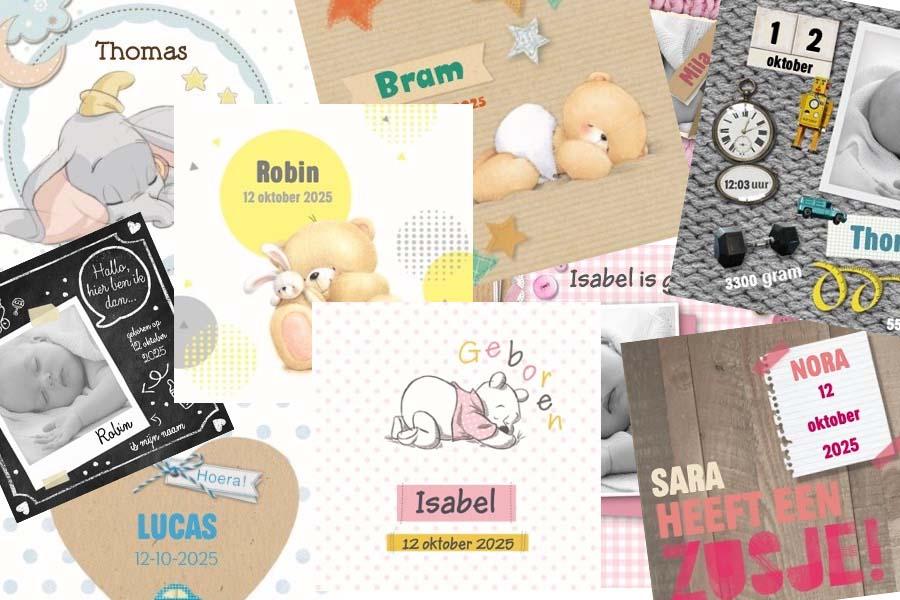 Geboortekaartjes trends en tips