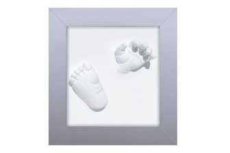 Een 3D afdruk van handje en of voetje