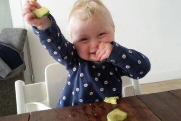 Blije baby eet volgens rapley-methode