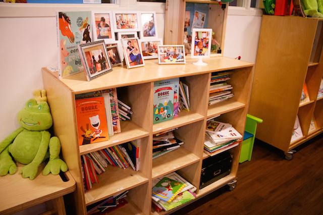 Boekenkast kinderdagverblijf