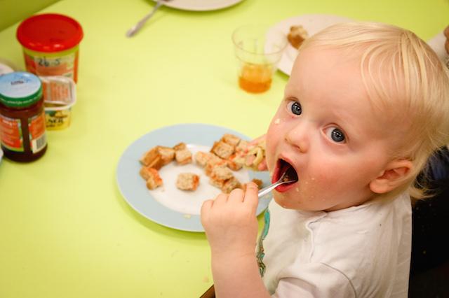 Eten kinderdagverblijf