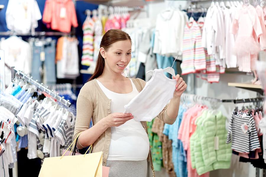 Shoppen zwangerschap
