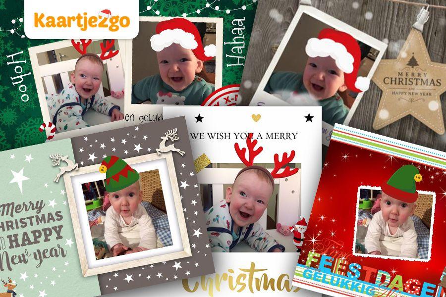 verschillende-voorbeelden-van-kerstkaarten-van-kaartje2go