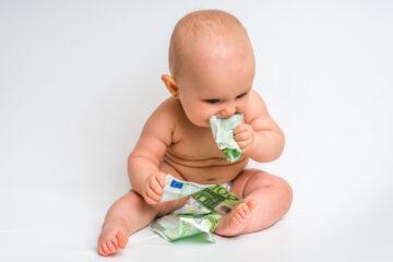Tegemoetkomingen in de kosten van een baby