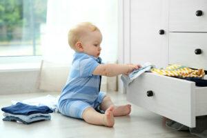 Baby snapt verband tussen actie en reactie