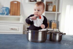 Baby eet geen babyvoeding meer, maar wat de pot schaft