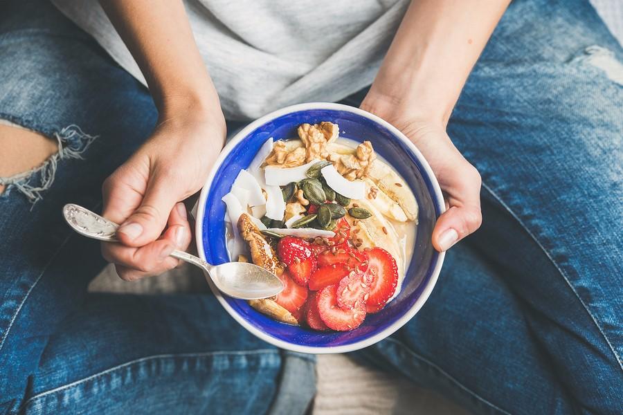 Gezond eten en een gezonde levensstijl geeft gezonde zwangerschap