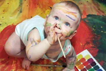 peuter tekening, kindertekeningen