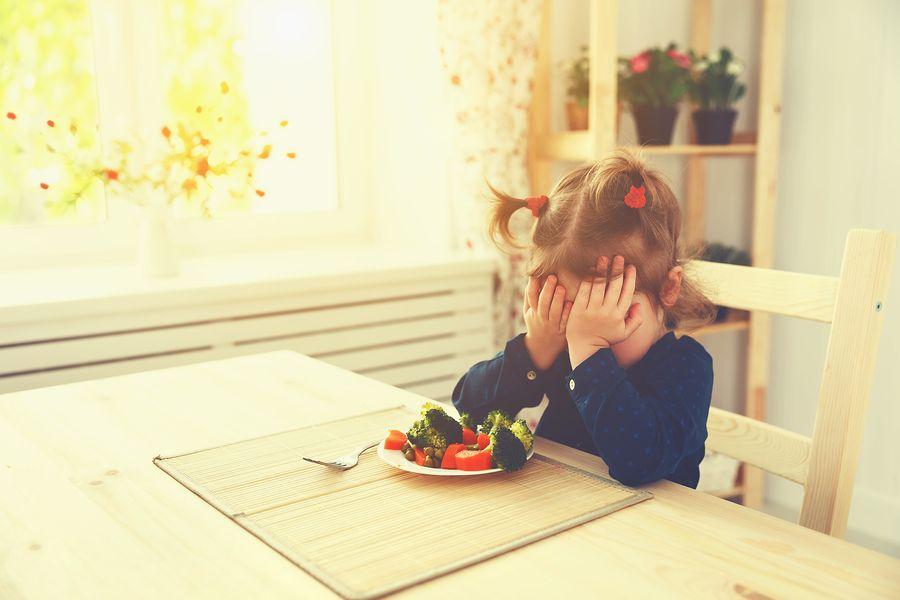 peuterpuberteit, peuter wil niet eten