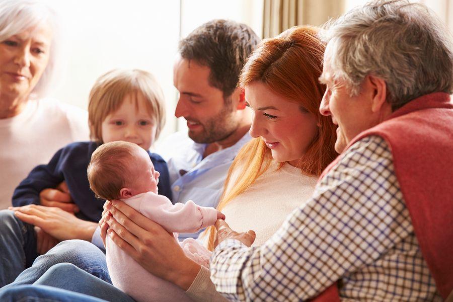 Baby-1-maand-oud-en-kraamvisite-